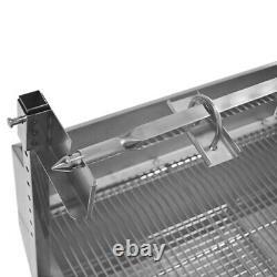 110V 132LBS Big Roast Machine BBQ Spit Roaster Rotisserie Grill Roasting Motor