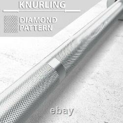34 Lb Olympic Bar New 7 Ft Chrome Olympic Barbell Free Shipping