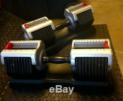 Adjustable Dumbbells 5-55 lbs Life Smart