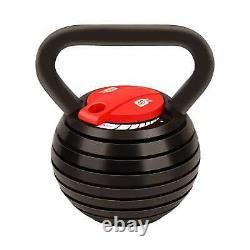 Adjustable Kettlebell Weight 15bs, 20lbs, 25lbs 30lbs 35lbs 40lbs Home and Gym Use
