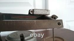 Antique Fairbanks cast iron brass beam 25lb Cap. Countertop scale