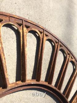 Art Deco-window Arch-door Arch-antique-vintage-cast Iron-61.5 Wide-78 Lb