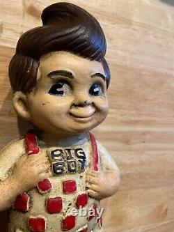 Big Boy Cast Iron Piggy Bank Man Cave Collector Decor 4+ LB Oil Gas Coal GIFT