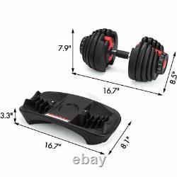Bowflex Selecttech 1090 Replica Dumbbells (5-90lbs / 2.5-40kg) PAIR