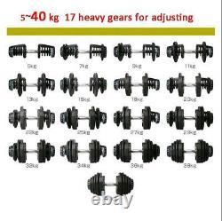Bowflex Selecttech 1090 Replica Dumbells (5-90lbs / 2.5-40kg) PAIR