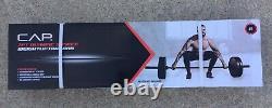 CAP 7' Foot 30LB Olympic Weight Lifting Bar Barbell 3 Piece 300 LBS Capacity