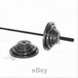 CAP Barbell 300-lb Cast Iron Olympic Weight Set (Includes 7' Bar)