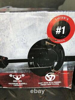 CAP Barbell Olympic Weight Set 110 LBS with Plates