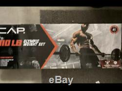 CAP Barbell Olympic Weight Set 110 LBS with Plates NEWithSEALED LOWER 48 STATE