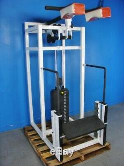 CEMCO Bear Squat Calf machine With375lbs WEIGHT STACK