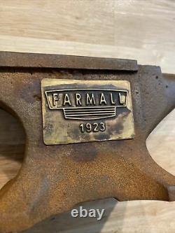 Farmall Anvil Collector Paper Weight Blacksmith Cast Iron Garage Gunsmith 6+ LBs