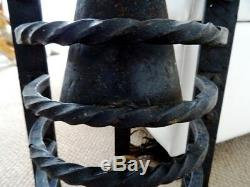 GOTHIC antique church fixture CAST IRON salvaged 20Lbs ARCHITECTURAL 21 large