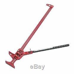 Hi-Lift Jack HL-605 Cast Iron & Steel 60 Height Red 4,660 lbs Capacity