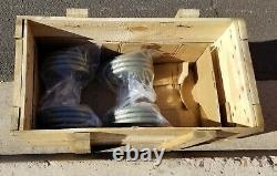 IVANKO PRO DUMBBELL (Pairs/Sets) 5-50 LB $1395 CALIBRATED PLATES SHIP USA