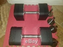 Ironmaster quick-lock dumbbells 180lbs excellent condition