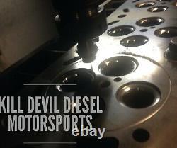 Kill Devil Diesel O-Ring Cylinder Heads 18mm/80lb Springs 6.0L Ford Powerstroke