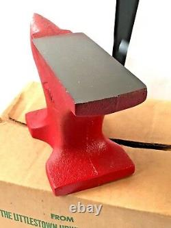 LITTCO NO. 119 CAST IRON 8lb ANVIL LITTLESTOWN HARDWARE FOUNDRY CO. NEW OLD STOCK