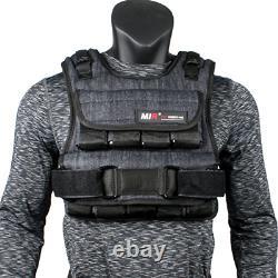 Mir Air Flow Adjustable Weighted Vest, 20 lb