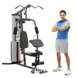 New Marcy Pro MWM-988 Home Gym System 150 lb Adjustable Weight Stack Machine