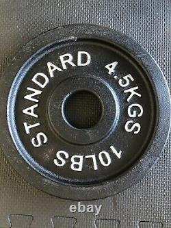 New Olympic Barbell weight plates (Sold In Pairs). Lowest Price Guarantee