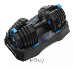 Nordictrack 50lb Adjustable Dumbbell, Single with Storage Tray