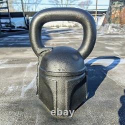 Onnit Star Wars Boba Fett 50 lb Kettlebell Fitness Gym Equipment Mandalorian