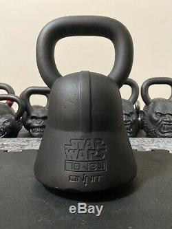 Onnit Star Wars Darth Vader 70 lb faced kettlebell EC