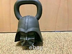 Onnit Star Wars Darth Vader 70 lb faced kettlebell EC Rare
