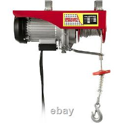 PA800 1760LB Electric Wire Hoist Garage Auto Overhead Lifting Remote Control