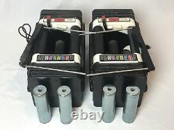 PowerBlock Adjustable Dumbbells Dumbbell 50 lb Set (100 lbs Total) Worn & Dusty