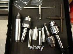 Precision Matthews PM-1228VF-LB Lathe, Mint, many extras