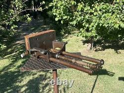 RICHARD WILCOX 10'' Jaw Quick Release Woodworking Vise Cast Iron Vice 35 Lbs