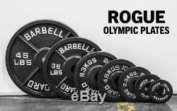 SHIPS TODAY Rogue Olympic plate sets 280Lbs 45lb, 35lb x2 sets, 25lb