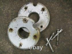 Sears Suburban SS/12 Tractor 30lb each Cast Iron Wheel Weights