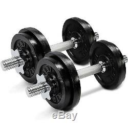 Set Dumbbells Weight Cap Gym Exercise Workout Barbell 40 50 52.5 60 105 200 lbs