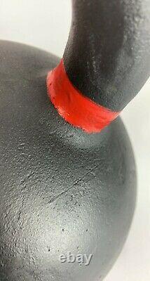 Single 106LB/48 KG Cast-Iron Powder Coated Kettlebell