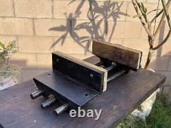 VTG. COLUMBIAN 3-CD 10'' Jaw Woodworking Vise Cast Iron Vice 34 Lbs CLEVELAND, OH