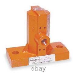 Vibco 55-1 Pneumatic Vibrator, 242 Lb, 9000 Vpm, 80Psi, Muffler 1A326