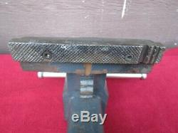 Vintage 39 lb Craftsman 5-1/2 Jaws Bench Vise Swivel Base Pipe Jaws #51871, USA