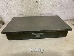Vintage DoAll Co. Cast Iron Surface Inspection Plate 24x14 Nice Shape 130lb