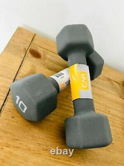 Weider and CAP Rubber Dumbbell Weights 5 8 10 15 25 30 40 LB FREE SHIPPING NEW