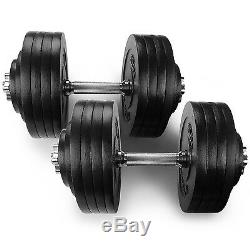 Yes4All Adjustable Dumbbell Weight Set for Fitness, 40 to 200 lbs (Sold in Pair)