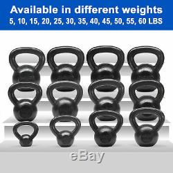Yes4All Cast Iron Kettlebells Sets Solid Kettlebell Weights Workout 5 30 Lbs