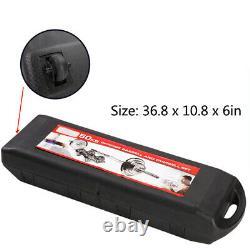 (110lb/66lb) Réglable Poids Fonte Dumbbell Barbell Kit Home Workout Tool