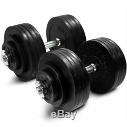 200lb Total Des Poids Haltères Réglables Set De Fonte Yes4all Poids Accueil Gym