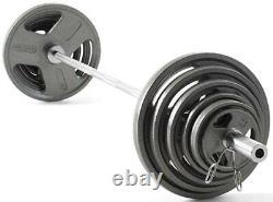 300 Lb Olympic Hammertone Weight Set Par Weider Flambant Neuf Dans Des Boîtes