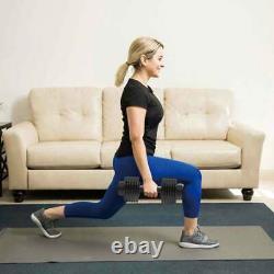 44lb Dumbbell Adjustable Weight Set Fitness Gym Home Cast Full Iron Dumbbell Etats-unis