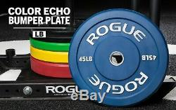 45lb Rogue Couleur Echo Pare-chocs Paire Fast Shippingblueexercise