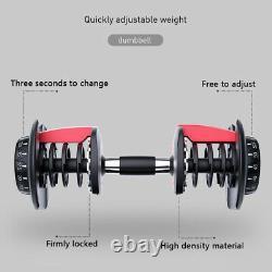 52.5lbs Haltère Poids Réglable Hommes Fitness Equipment Us