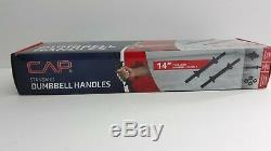 60 Lb Moulage Réglable Haltère Poids Set Cap Fast Shipping